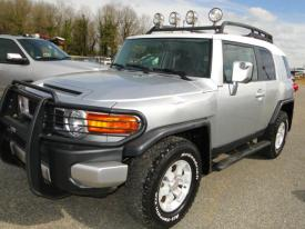 Salvage Toyota FJ Cruiser